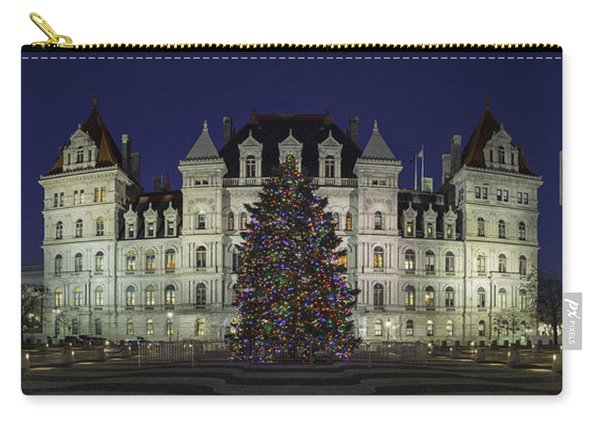 Empire State Plaza Holiday Carry-all Pouch
