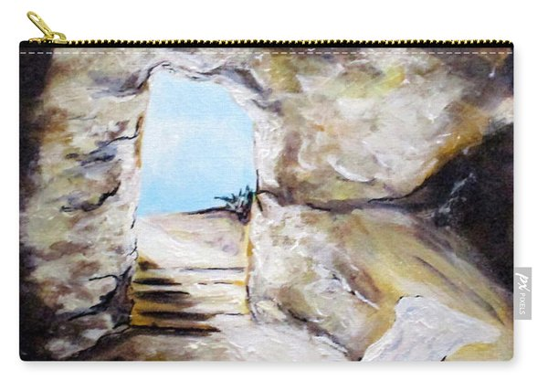 Empty Burial Tomb Carry-all Pouch