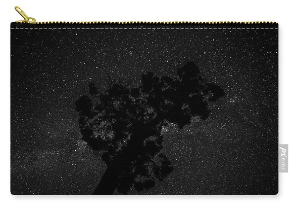 Empty Night Tree Carry-all Pouch