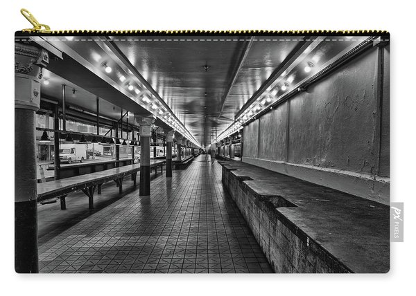 Empty Pike Place Market In Seattle Carry-all Pouch