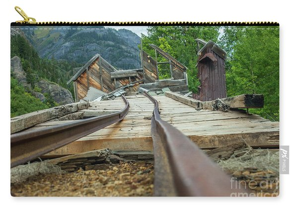 Empty Tracks Carry-all Pouch