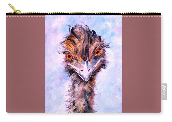 Emu Eyes Carry-all Pouch