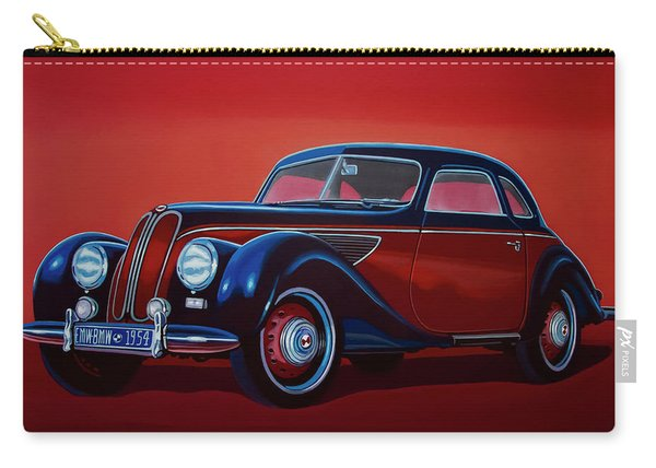 Emw Bmw 1951 Painting Carry-all Pouch