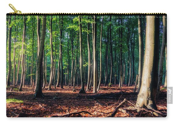 Carry-all Pouch featuring the photograph Enchanted Forest by Dmytro Korol