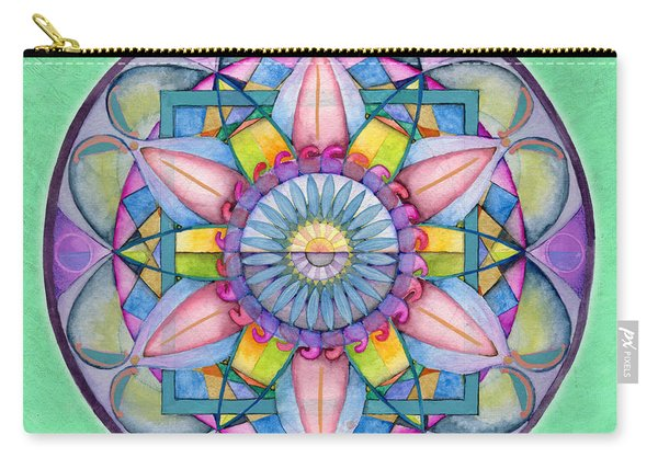 End Of Sorrow Mandala Carry-all Pouch