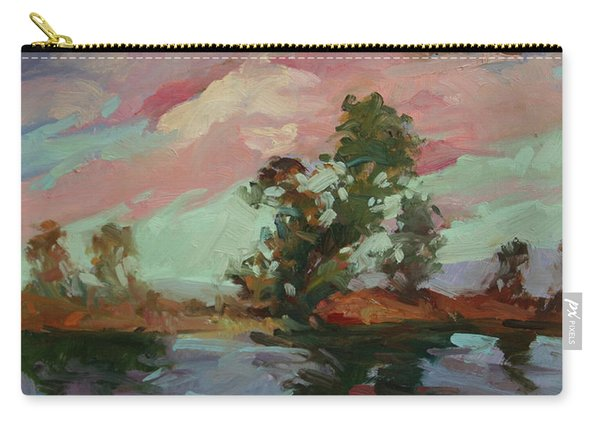 End Of The Cottonwoods Carry-all Pouch