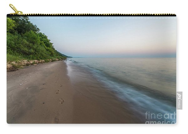 Endless Beach At Pierport Carry-all Pouch