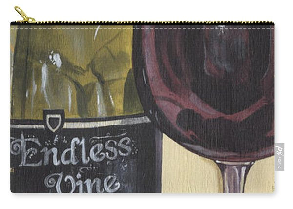 Endless Vine Panel Carry-all Pouch
