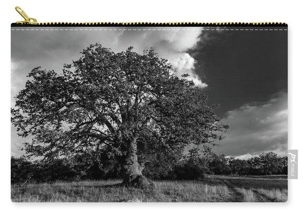 Engellman Oak Palomar Black And White Carry-all Pouch