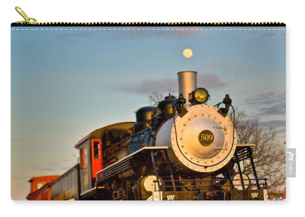 Engine 509 At Crossville Tennessee Puffing Carry-all Pouch