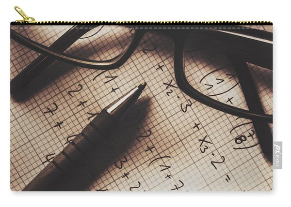 Engineer Students Technical Equations In Mechanics Carry-all Pouch