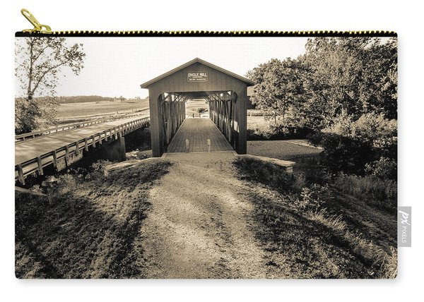 Engle Mill Covered Bridge Carry-all Pouch