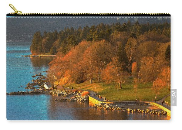 English Bay At Golden Hr. Carry-all Pouch