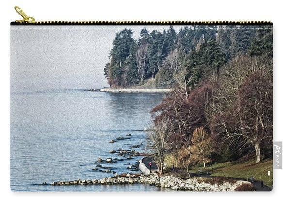 English Bay Shore Carry-all Pouch