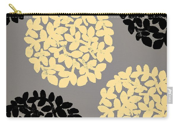 English Garden Retro Flower Pattern Carry-all Pouch