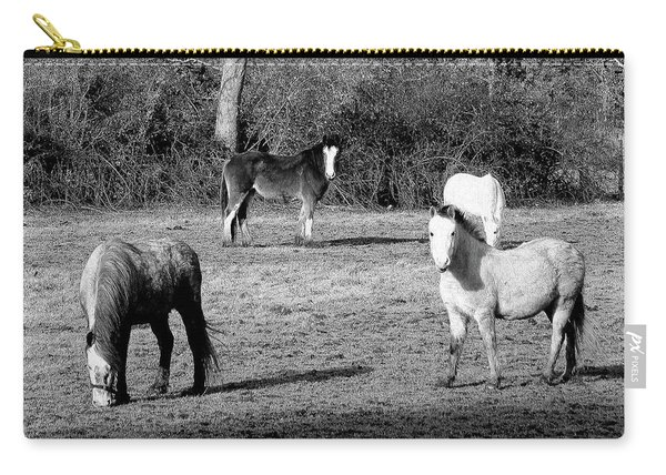 English Horses Carry-all Pouch