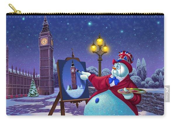A Jolly Good Christmas Carry-all Pouch