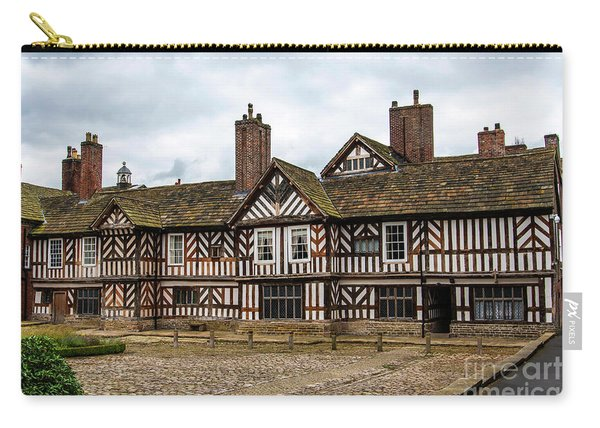 Historic Tudor Timbered Hall Carry-all Pouch