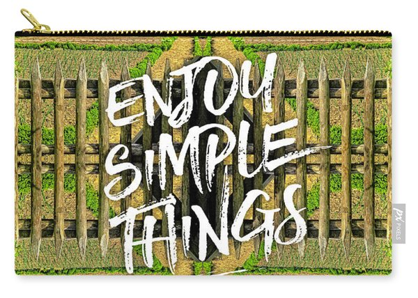Enjoy Simple Things Marie Antoinette Hamlet Versailles Carry-all Pouch