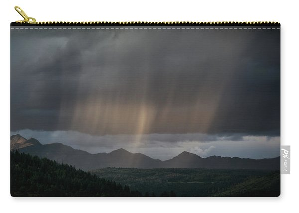 Carry-all Pouch featuring the photograph Enlightened Shafts by Jason Coward