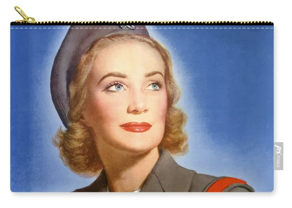 Enlist In A Proud Profession - Join The Us Cadet Nurse Corps Carry-all Pouch