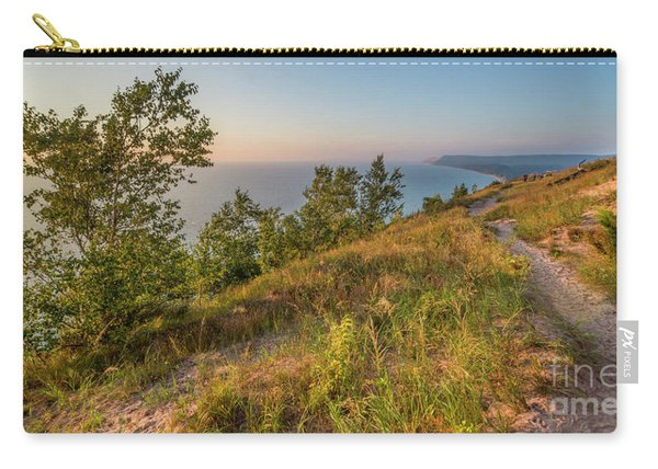 Enpire Bluff Sunset Colors Carry-all Pouch