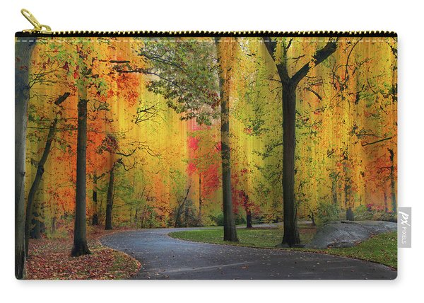 Ensconced In Autumn Carry-all Pouch