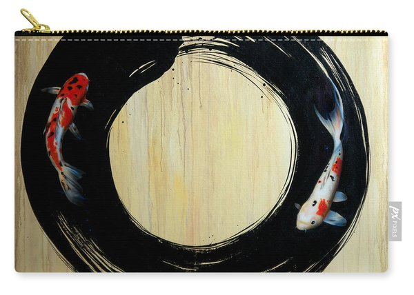 Enso With Koi Carry-all Pouch