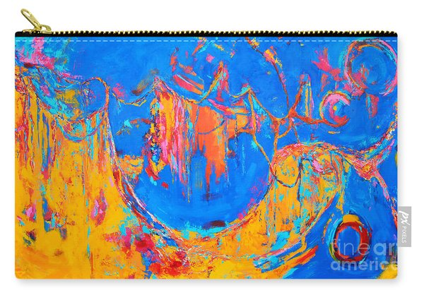 Entangled No. 3 A Reflection Of Life Carry-all Pouch
