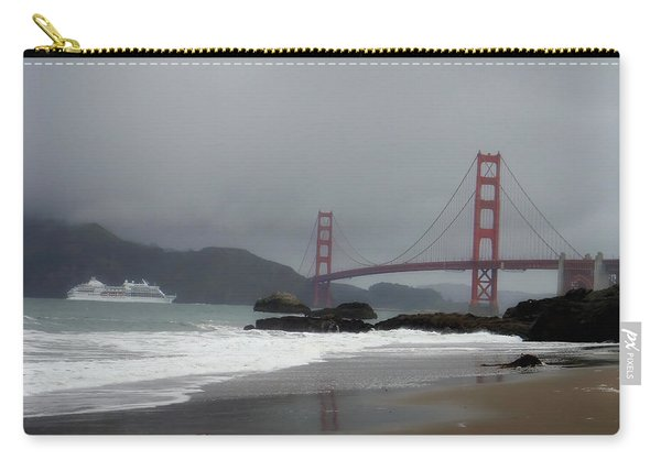 Entering The Golden Gate Carry-all Pouch