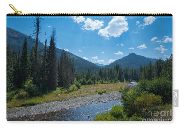 Entering Yellowstone National Park Carry-all Pouch