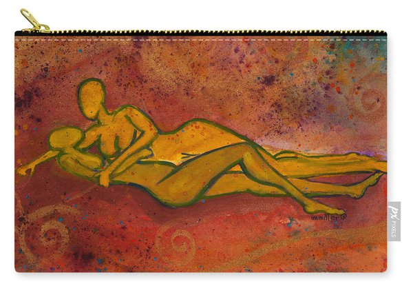 Enthralled Divine Love Series No. 1004 Carry-all Pouch