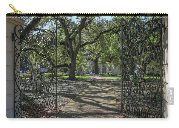 Entrance Gate To Ul Alum House Carry-all Pouch