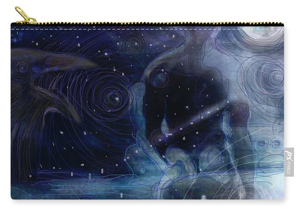 Ephemeral And Illusionary Existence Carry-all Pouch