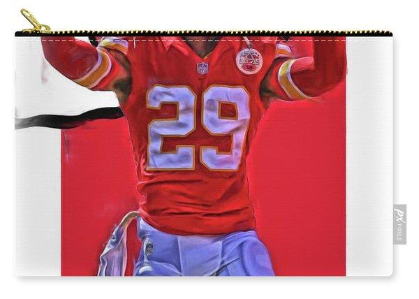 Eric Berry Kansas City Chiefs Oil Art Carry-all Pouch