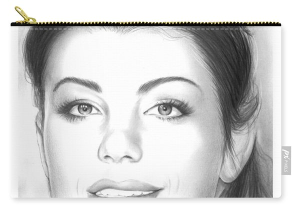 Erica Durance Carry-all Pouch