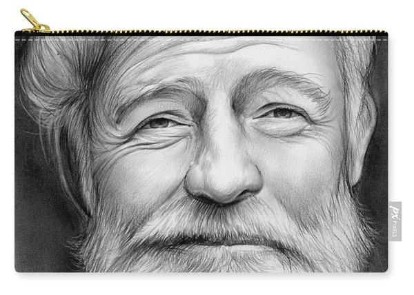 Ernest Hemingway Carry-all Pouch
