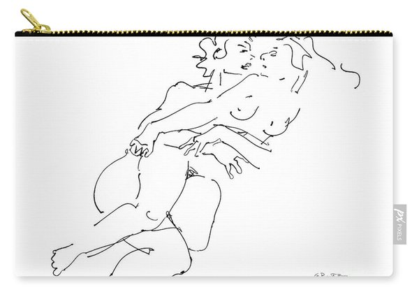 Erotic Art Drawings 13 Carry-all Pouch