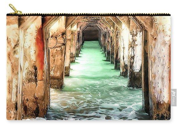 Escape To Atlantis Carry-all Pouch