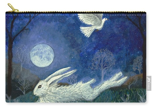 Escape With A Blessing Carry-all Pouch