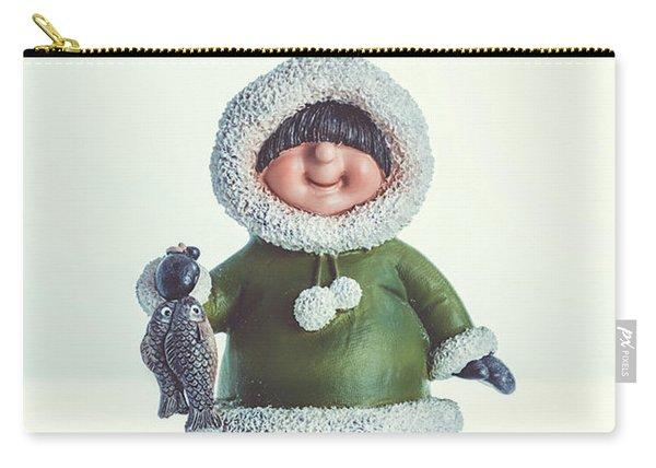 Eskimo Figure Carry-all Pouch