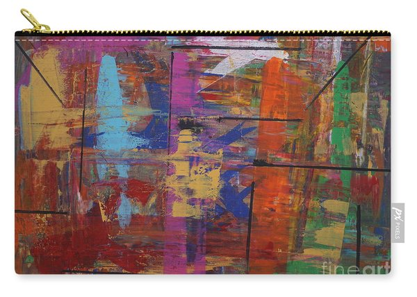 Carry-all Pouch featuring the painting Essence by Jimmy Clark
