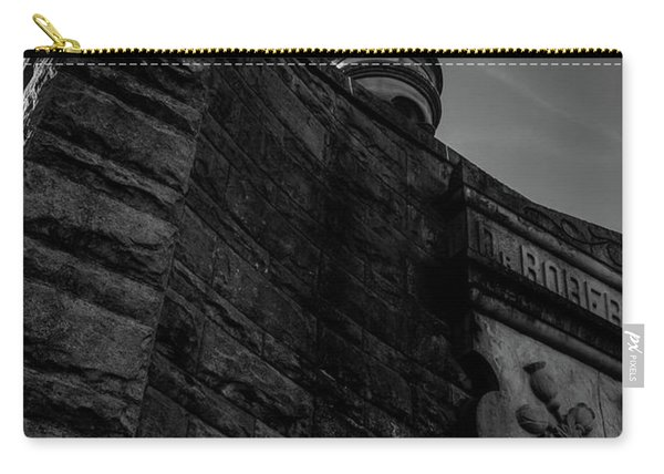 Eternal Stone Structure Bw Carry-all Pouch