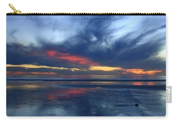 Ethereal Beach Blues Carry-all Pouch