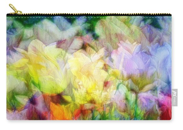 Ethereal Flowers Carry-all Pouch