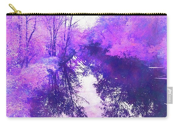 Ethereal Water Color Blossom Carry-all Pouch