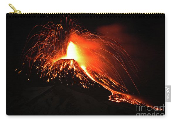 Italy, Sicily,etna Carry-all Pouch
