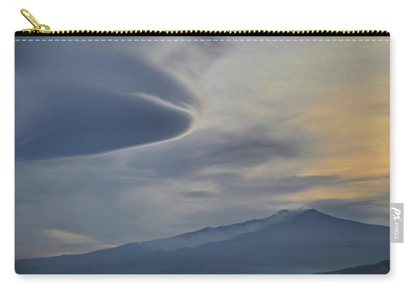 Etna Clouds Carry-all Pouch