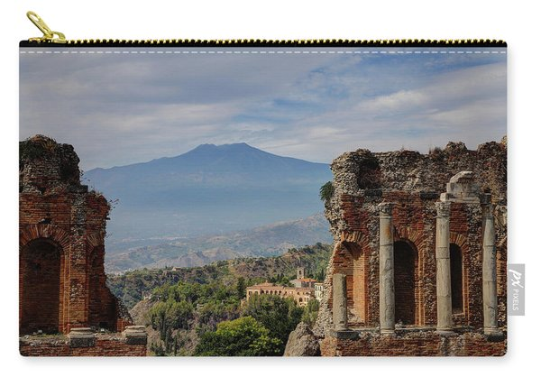 Etna From The Greek Theater Carry-all Pouch