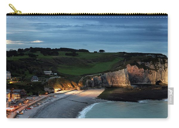 Etretat In The Evening Carry-all Pouch